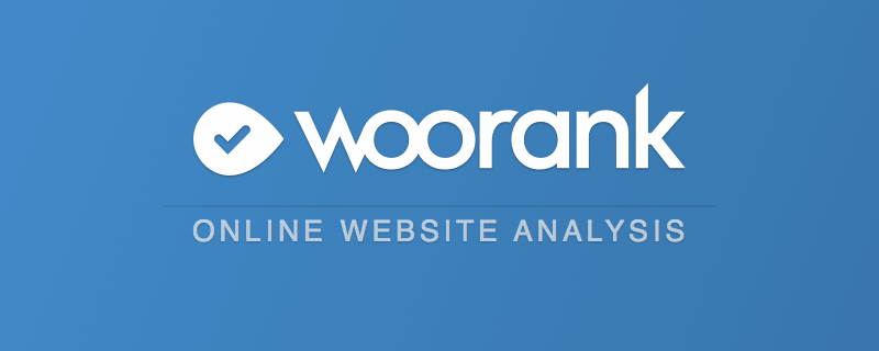 WooRank's SEO & Website Analysis